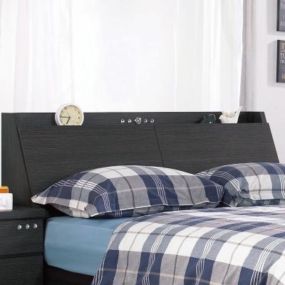 床頭箱-雙人5尺-安達被櫥式床頭-兩色可選-品家居