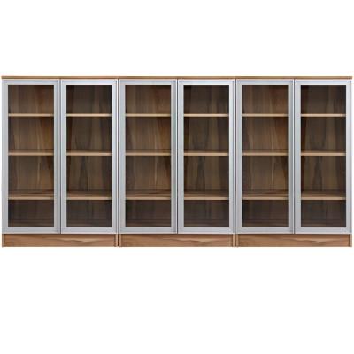 aaronation 雷思克設計師180~240cm鋁框玻璃收納矮櫃--量身訂製系統家具