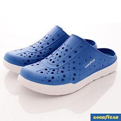 GOODYEAR-懶人水陸鞋-SE3806藍白(男段)