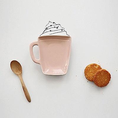 Dailylike 西點造型陶瓷點心盤-10 馬克杯