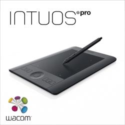 Wacom Intuos Pro 專業板Touch Small 繪圖板(黑)PTH-451