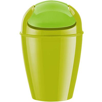 KOZIOL Del搖擺蓋垃圾桶(綠M)