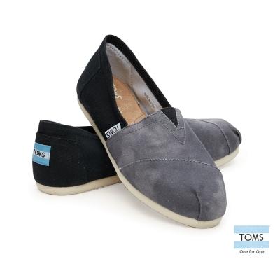TOMS 經典暈染懶人鞋-女款(黑)