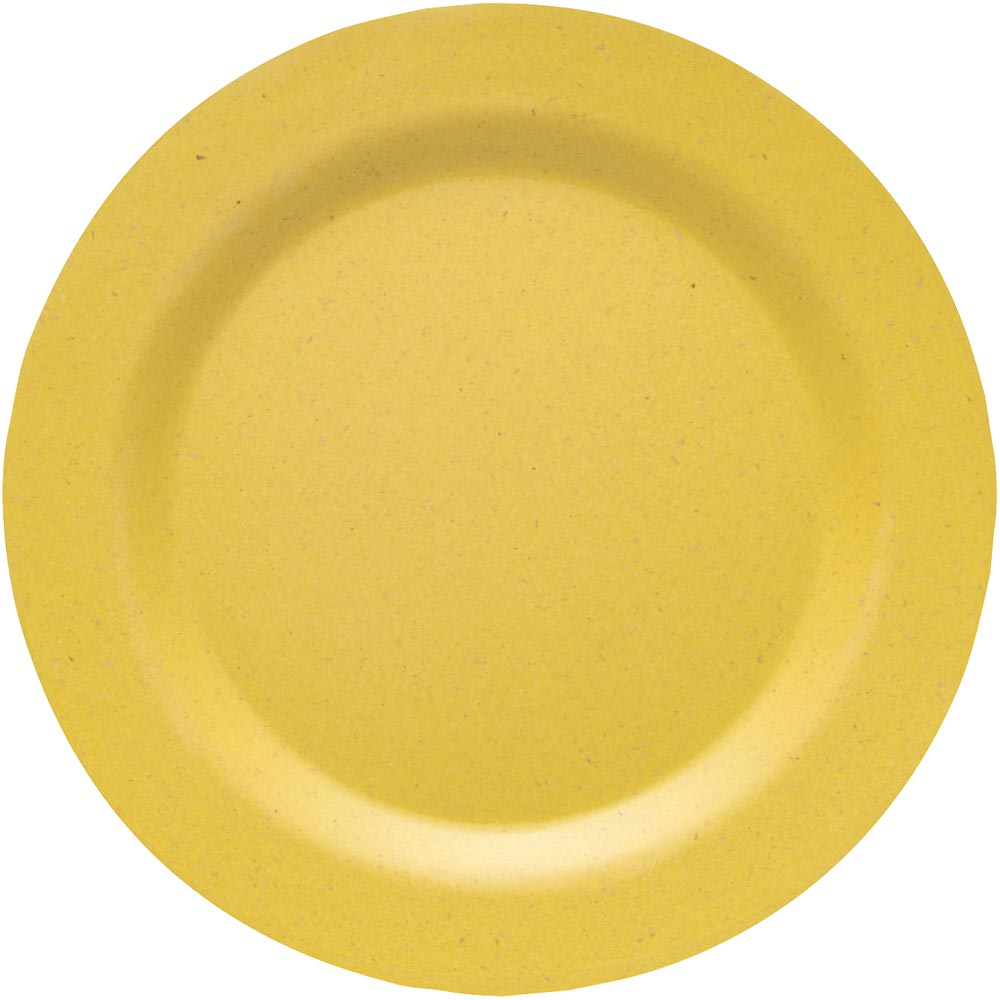 NOW Ecologie竹纖維餐盤(暖黃20cm)