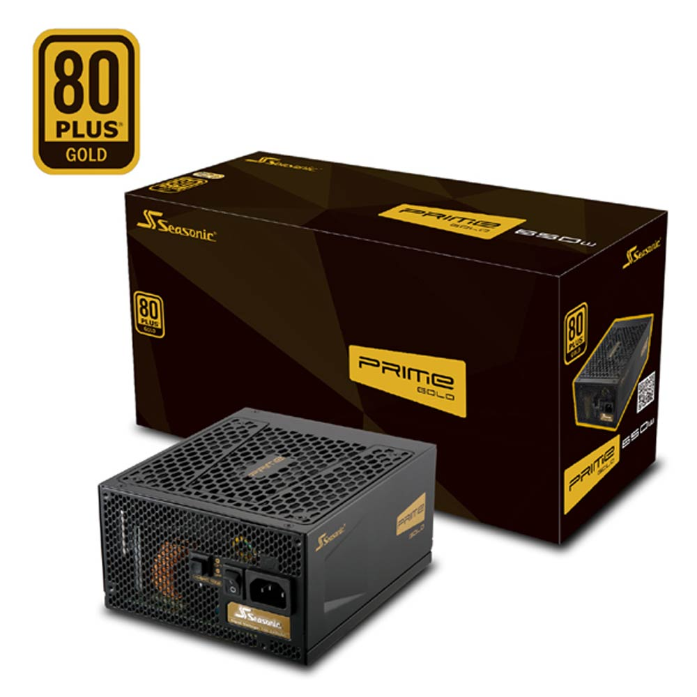 海韻 PRIME 550W Gold  電源供應器