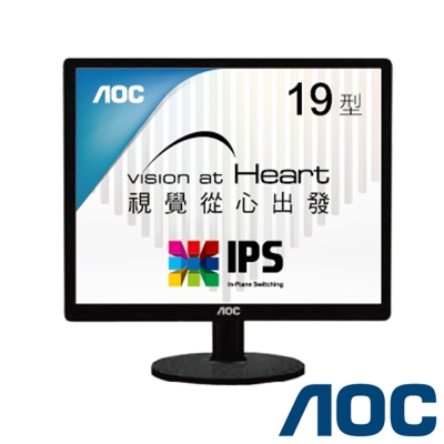 AOC I960SRDA 19型 IPS 節能電腦螢幕