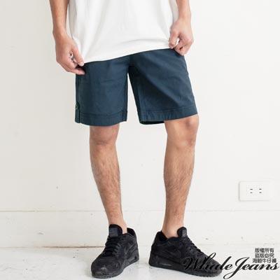 WHALE JEANS 男款熱門精選純色中短褲-3色