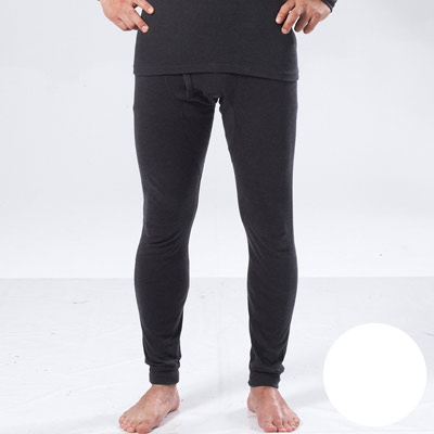 【DADADO】基礎系列M-LL素面保暖褲(本白色)