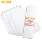 COTEX 柔布帕組(4條擦拭巾+1條手套式擦澡巾) 替代濕紙巾的最佳選擇