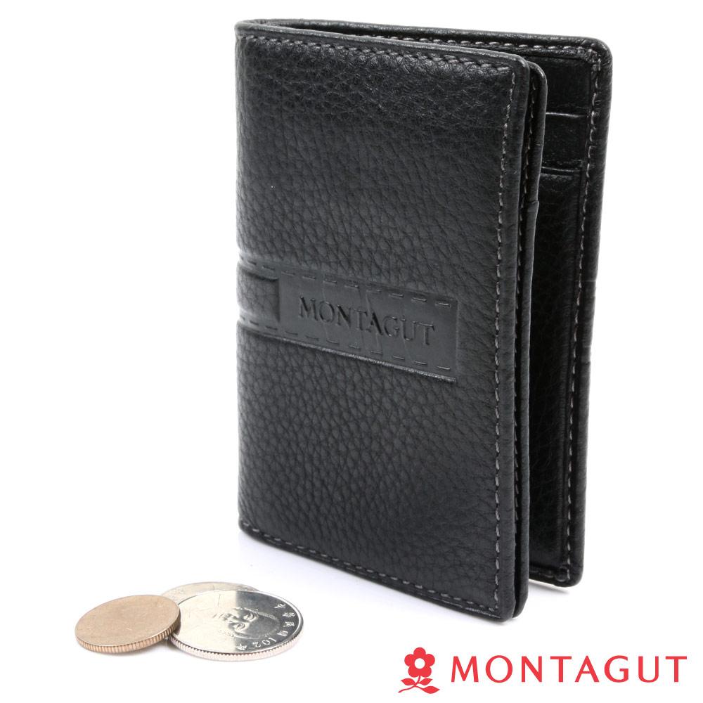 MONTAGUT夢特嬌- 精品 頭層牛皮 鑰匙卡夾