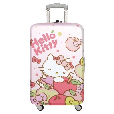 LOQI 行李箱套-Hello Kitty 白日夢(M號 適用22-27吋行李箱保護套)