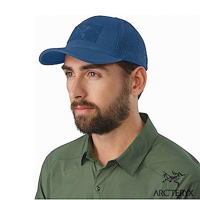 Arcteryx 始祖鳥 24系列 Logo棒球帽 藍