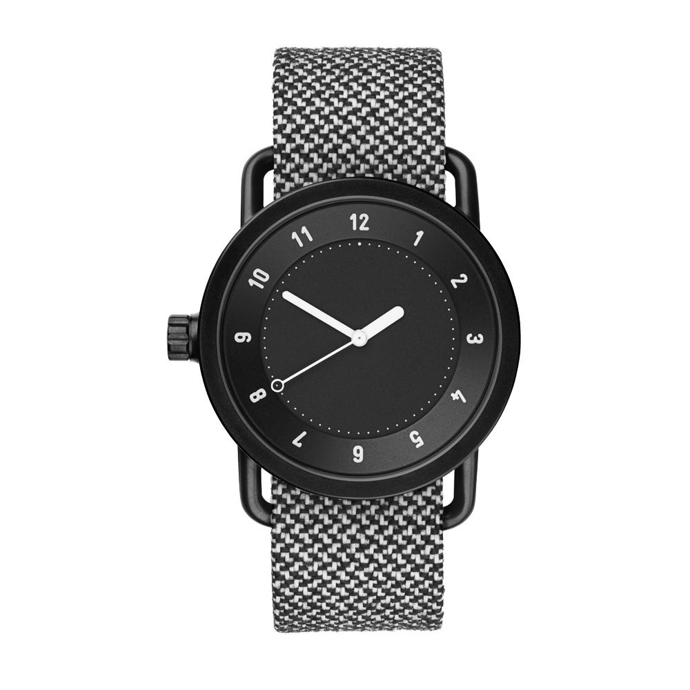 TID Watches No.1 Black TID-W100-GN/40mm