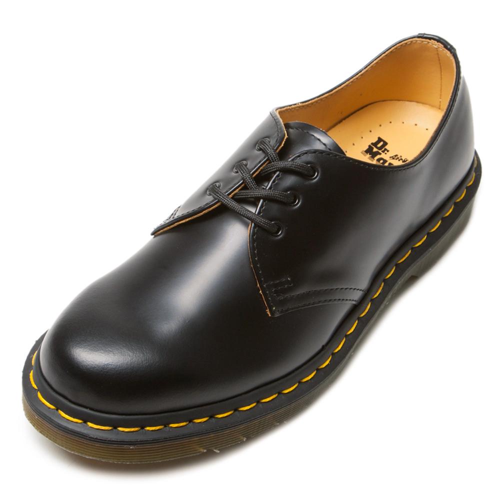 Dr.Martens經典3孔馬汀馬丁鞋-男款-黑色
