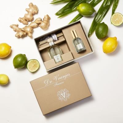 義大利翡冷翠香氛-薑汁萊姆 擴香+噴霧禮盒
