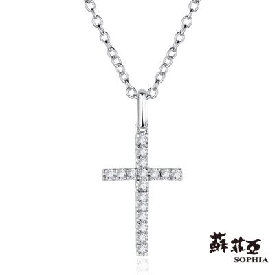 蘇菲亞SOPHIA 鑽鍊 - 十字架造型鑽鍊
