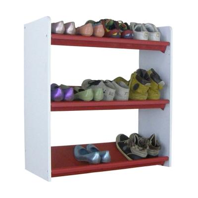 【Dr. DIY】三層開放式鞋架(六款配色可選)