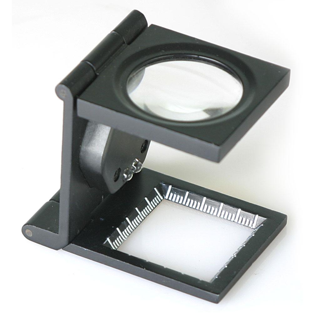6倍ㄇ型折疊放大鏡(附LED燈)