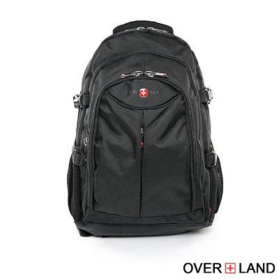 OVERLAND-美式十字軍x型男率性大口袋後背包