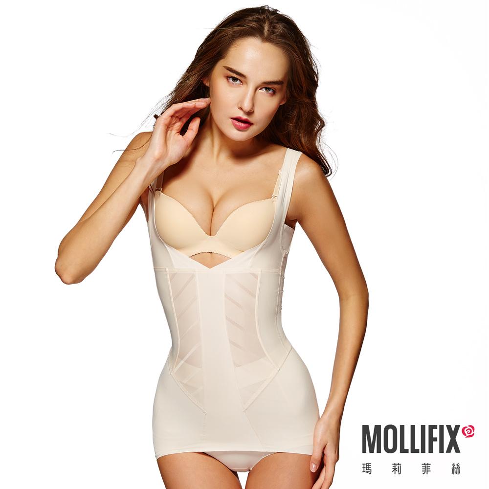Mollifix 超自我 S LINE 挺胸塑身衣 (裸膚)