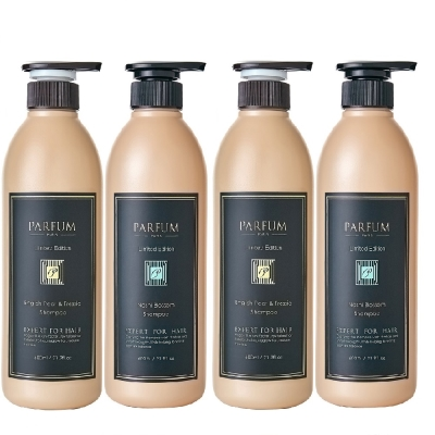 Parfum 巴黎帕芬 香氛精油洗髮精600mlX4(多款可選)