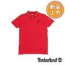 Timberland 男款紅色品牌標誌Polo衫