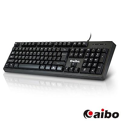 aibo KB14 USB多媒體多功能有線鍵盤
