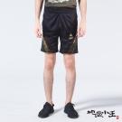 地藏小王 BLUE WAY 龍紋牡丹家徽透濕透氣防潑水短褲