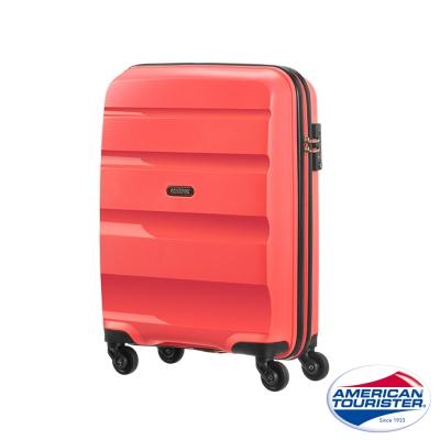 AT美國旅行者 20吋Bon-Air可擴充PP材質四輪登機箱(珊瑚紅)