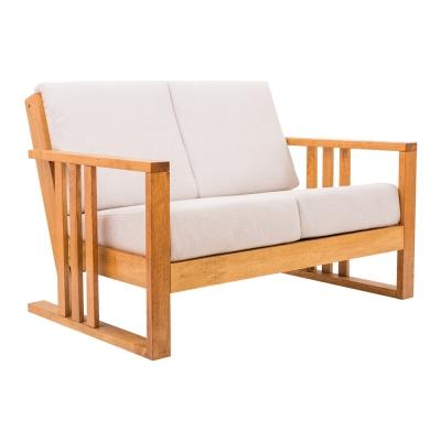 日木家居Perry珀里實木雙人沙發