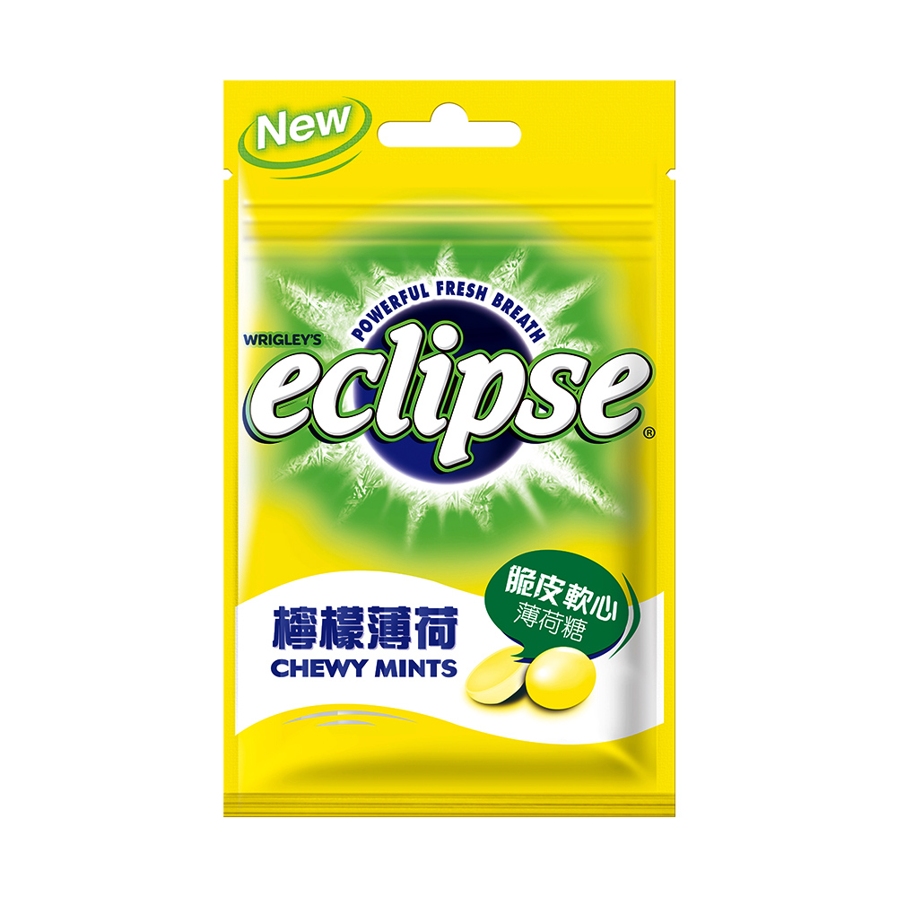 Eclipse易口舒 脆皮軟心糖-檸檬口味(34g)