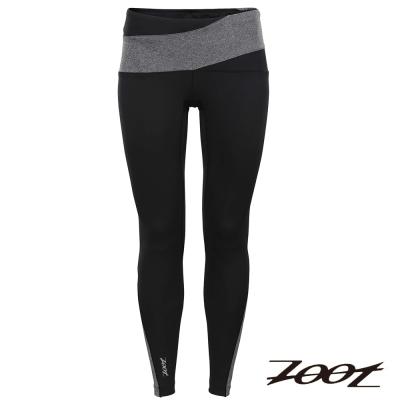 ZOOT 頂級極致型抗寒輕肌能壓縮長褲(女)(時尚黑雅灰)Z1504032