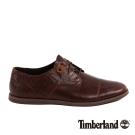 Timberland 男款中咖啡色3孔休閒牛津鞋