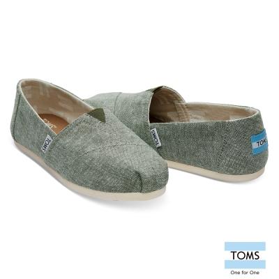 TOMS 經典帆布休閒鞋-女款
