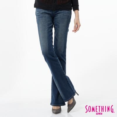 SOMETHING STORYⅠ提臀中直筒靴型褲-女款-拔淺藍