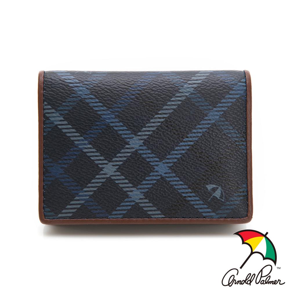 Arnold Palmer- 名片夾 摩洛哥系列-藍色