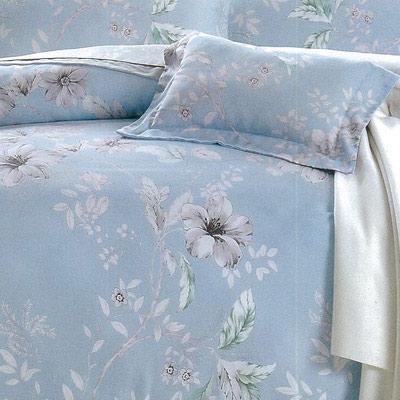 LAMINA 吉尼時光-藍 100%天絲四件式兩用被套床包組(加大)