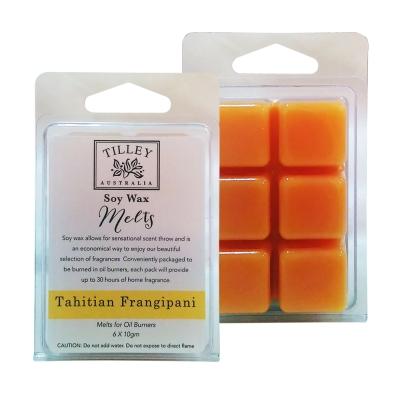 Tilley百年特莉 大溪地赤素馨香氛大豆蠟60gx2盒組(方形)