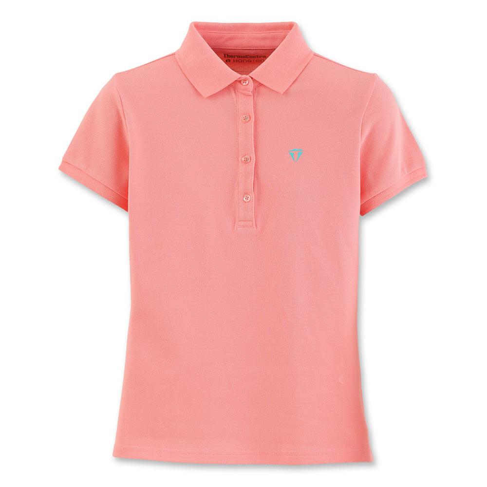 Hang Ten - 女裝 - 運動POLO衫 -粉紅