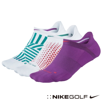 NIKE GOLF 排汗 運動襪 襪子 3雙/組-花色SG0493-136