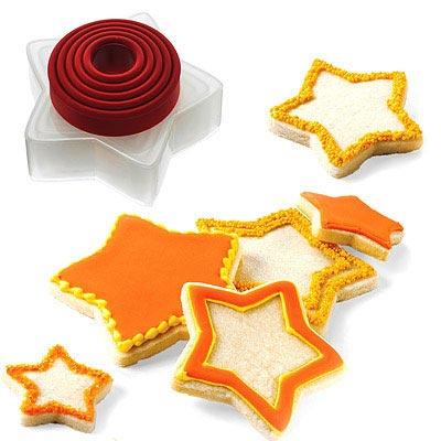 《CUISIPRO》星星餅乾壓模器