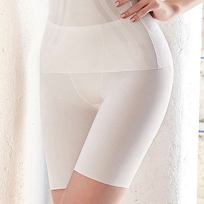 曼黛瑪璉-美型顯瘦 高腰中管束褲 S-XL(清透灰)