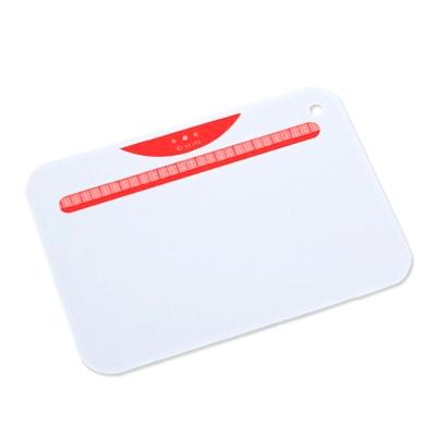 【KYOCERA】日本京瓷抗菌砧板(白底紅)