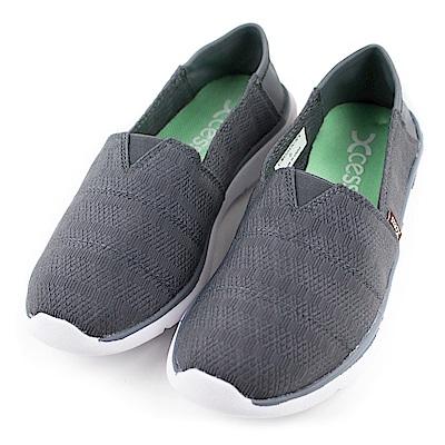 XCESS-女休閒鞋GW050GRY-編織灰