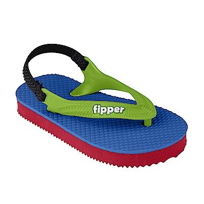 Fipper TODDS 天然橡膠拖鞋 BLUE-GREEN