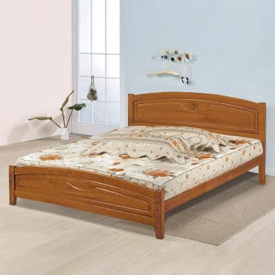 Homelike 夏爾實木床架-雙人加大6尺(不含床墊)