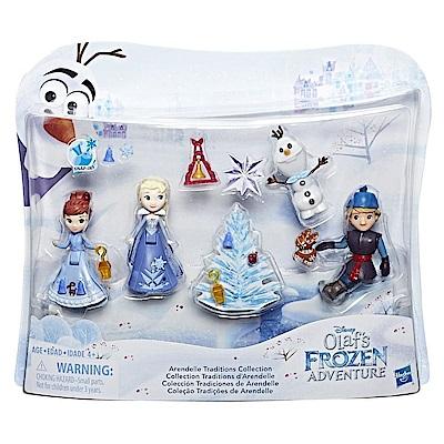 迪士尼公主系列 - 冰雪奇緣雪寶的佳節冒險迷你公主組