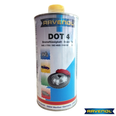 德國進口RAVENOL-DOT-4-全合成煞車油六入