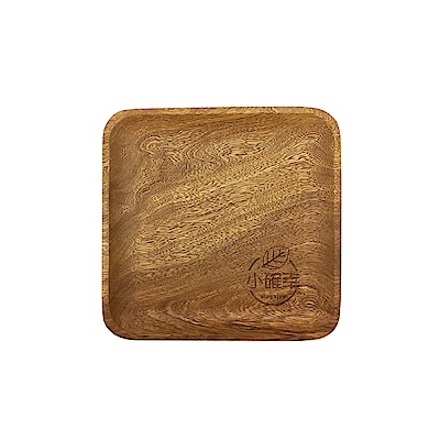 WIDE VIEW 原木質感印花小方盤(UTM-02)