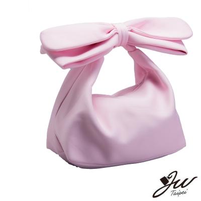 JW 側肩包 哈妮甜心蝴蝶結造型手肩包 共五色